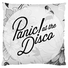 Panic At The Disco Flowers Large Flano Cushion Case (two Sides) by Onesevenart