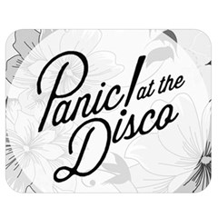Panic At The Disco Flowers Double Sided Flano Blanket (medium)  by Onesevenart