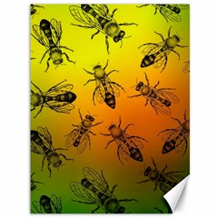 Insect Pattern Canvas 36  X 48   by Onesevenart