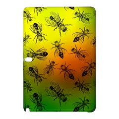 Insect Pattern Samsung Galaxy Tab Pro 10 1 Hardshell Case by Onesevenart