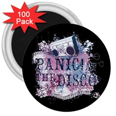 Panic At The Disco Art 3  Magnets (100 Pack) by Onesevenart