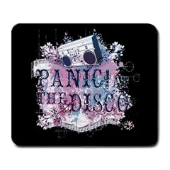 Panic At The Disco Art Large Mousepads by Onesevenart
