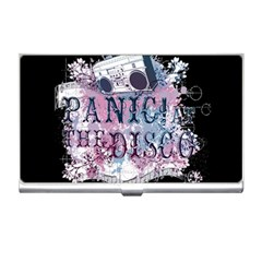 Panic At The Disco Art Business Card Holders by Onesevenart