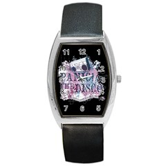 Panic At The Disco Art Barrel Style Metal Watch by Onesevenart