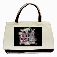Panic At The Disco Art Basic Tote Bag by Onesevenart