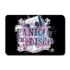 Panic At The Disco Art Small Doormat  by Onesevenart