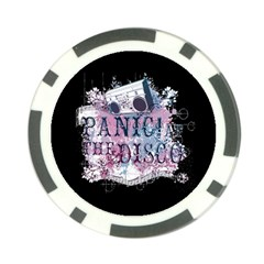 Panic At The Disco Art Poker Chip Card Guards (10 Pack)  by Onesevenart