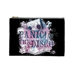 Panic At The Disco Art Cosmetic Bag (large)  by Onesevenart