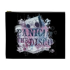 Panic At The Disco Art Cosmetic Bag (xl) by Onesevenart