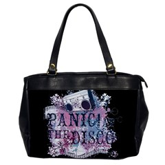 Panic At The Disco Art Office Handbags by Onesevenart