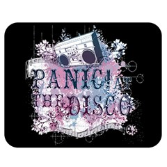 Panic At The Disco Art Double Sided Flano Blanket (medium)  by Onesevenart