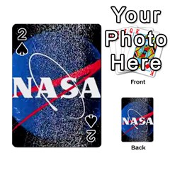 Nasa Logo Playing Cards 54 Designs  by Onesevenart