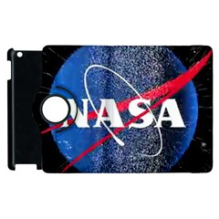 Nasa Logo Apple Ipad 3/4 Flip 360 Case by Onesevenart