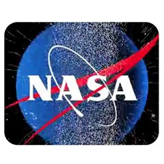 Nasa Logo Double Sided Flano Blanket (medium)  by Onesevenart