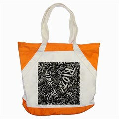 Panic At The Disco Lyric Quotes Retina Ready Accent Tote Bag by Onesevenart