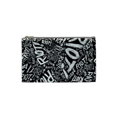 Panic At The Disco Lyric Quotes Retina Ready Cosmetic Bag (small)  by Onesevenart