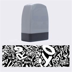 Panic At The Disco Lyric Quotes Retina Ready Name Stamps by Onesevenart