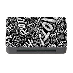 Panic At The Disco Lyric Quotes Retina Ready Memory Card Reader With Cf by Onesevenart