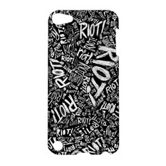 Panic At The Disco Lyric Quotes Retina Ready Apple Ipod Touch 5 Hardshell Case by Onesevenart