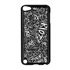 Panic At The Disco Lyric Quotes Retina Ready Apple Ipod Touch 5 Case (black) by Onesevenart