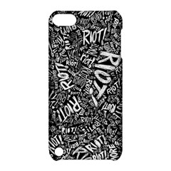 Panic At The Disco Lyric Quotes Retina Ready Apple Ipod Touch 5 Hardshell Case With Stand by Onesevenart