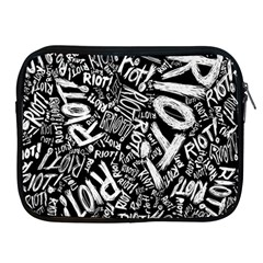 Panic At The Disco Lyric Quotes Retina Ready Apple Ipad 2/3/4 Zipper Cases by Onesevenart