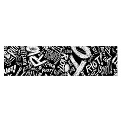 Panic At The Disco Lyric Quotes Retina Ready Satin Scarf (oblong) by Onesevenart