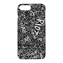 Panic At The Disco Lyric Quotes Retina Ready Apple Iphone 7 Plus Hardshell Case by Onesevenart