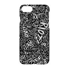 Panic At The Disco Lyric Quotes Retina Ready Apple Iphone 7 Hardshell Case by Onesevenart