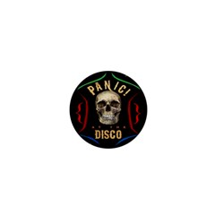 Panic At The Disco Poster 1  Mini Buttons by Onesevenart