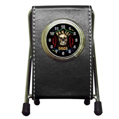 Panic At The Disco Poster Pen Holder Desk Clocks by Onesevenart