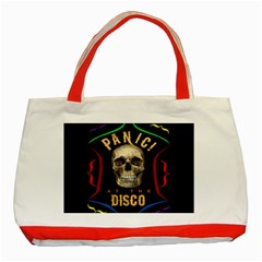 Panic At The Disco Poster Classic Tote Bag (red) by Onesevenart