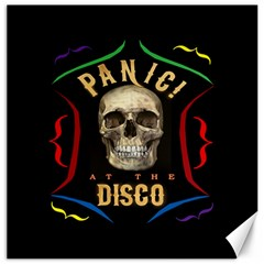 Panic At The Disco Poster Canvas 12  X 12   by Onesevenart