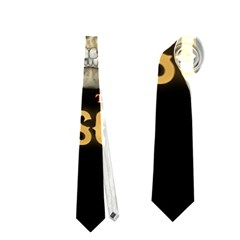 Panic At The Disco Poster Neckties (two Side)  by Onesevenart