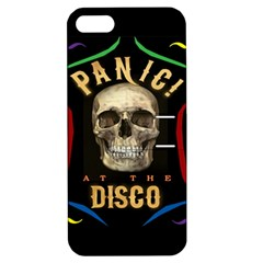 Panic At The Disco Poster Apple Iphone 5 Hardshell Case With Stand by Onesevenart