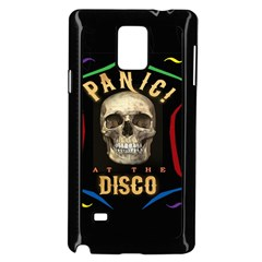 Panic At The Disco Poster Samsung Galaxy Note 4 Case (black) by Onesevenart