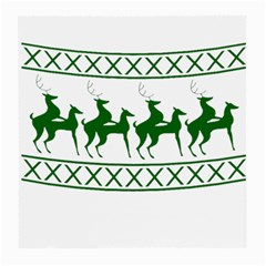 Humping Reindeer Ugly Christmas Medium Glasses Cloth (2 Side) by Onesevenart
