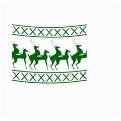 Humping Reindeer Ugly Christmas Large Garden Flag (two Sides) by Onesevenart