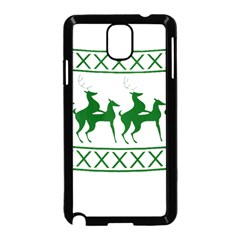 Humping Reindeer Ugly Christmas Samsung Galaxy Note 3 Neo Hardshell Case (black) by Onesevenart