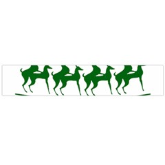 Humping Reindeer Ugly Christmas Flano Scarf (large) by Onesevenart