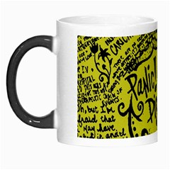 Panic! At The Disco Lyric Quotes Morph Mugs by Onesevenart