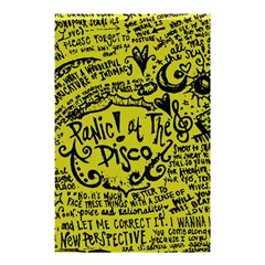 Panic! At The Disco Lyric Quotes Shower Curtain 48  X 72  (small)  by Onesevenart
