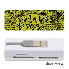 Panic! At The Disco Lyric Quotes Memory Card Reader (stick)  by Onesevenart