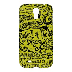 Panic! At The Disco Lyric Quotes Samsung Galaxy S4 I9500/i9505 Hardshell Case