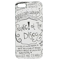 Panic! At The Disco Lyrics Apple Iphone 5 Hardshell Case With Stand by Onesevenart