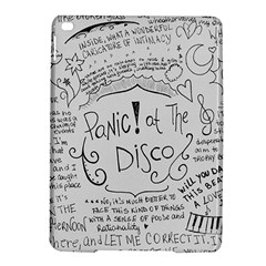 Panic! At The Disco Lyrics Ipad Air 2 Hardshell Cases by Onesevenart