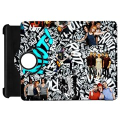 Panic! At The Disco College Kindle Fire Hd Flip 360 Case by Onesevenart