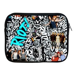 Panic! At The Disco College Apple Ipad 2/3/4 Zipper Cases by Onesevenart
