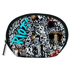 Panic! At The Disco College Accessory Pouches (medium)  by Onesevenart