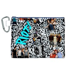 Panic! At The Disco College Canvas Cosmetic Bag (xl) by Onesevenart